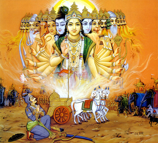 Gods And Warriors Books In Order: The Bhagavad Gita In Pictures