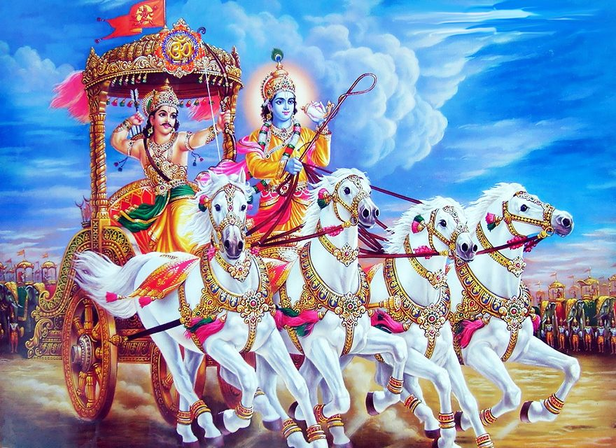 The bhagavad gita in audio (hindi).