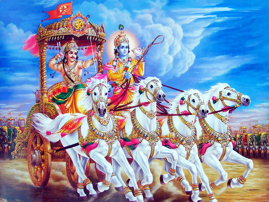 The Bhagavad Gita in Audio (Sanskrit)