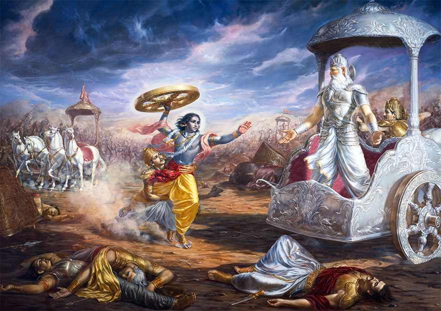 The Bhagavad Gita in Pictures